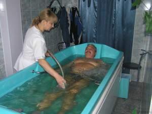 Процедура гидромассажа