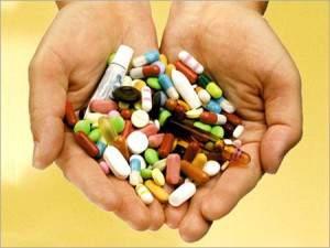 Таблетки на руках