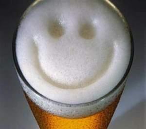 Пиво улыбается тебе )