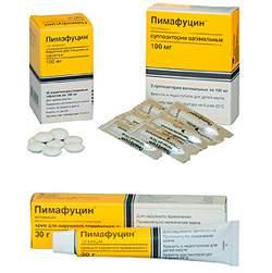 Пимафуцин от кандидоза