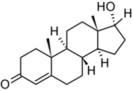Схема тестостерона