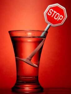 Исключение алкоголя перед сдачей спермы