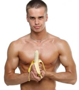Чем для мужчин полезны бананы